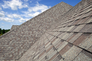 Homes roofed with asphalt shingles in Bethel